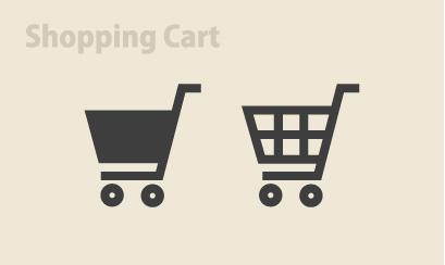 ネットショップ素材 お買い物カート イラスト 13