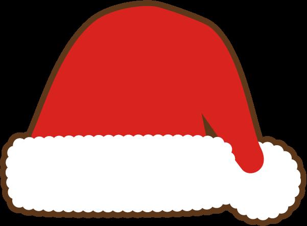 サンタクロースの帽子素材